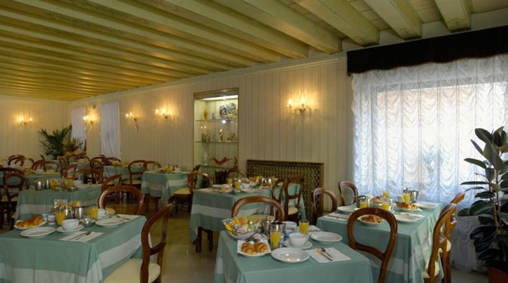 Venetië, Hotel Basilea, Restaurant