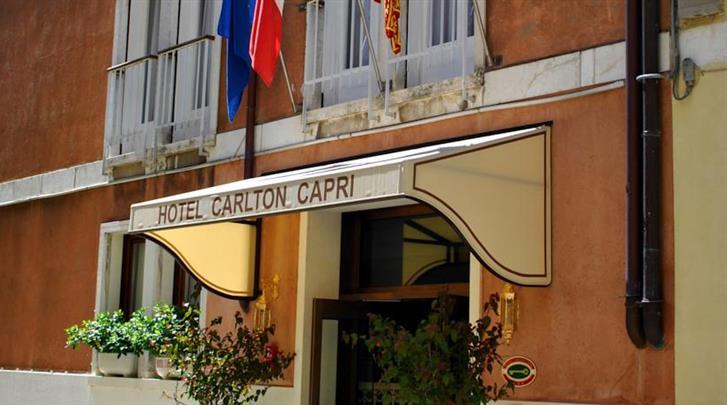 Venetië, Hotel Carlton Capri, Façade hotel
