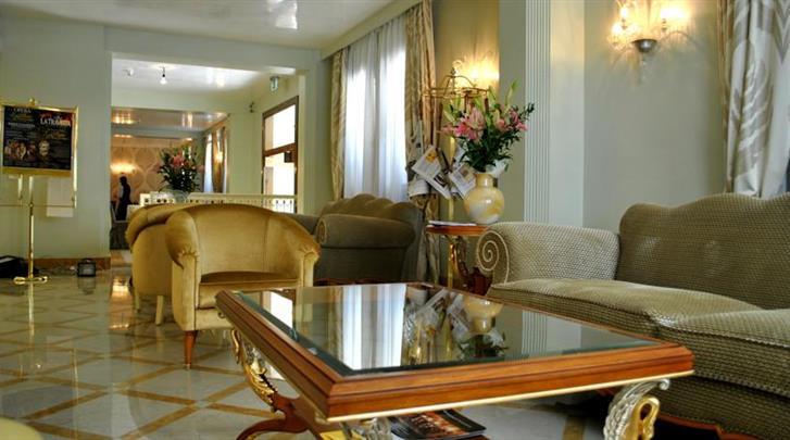 Venetië, Hotel Carlton Capri, Lobby