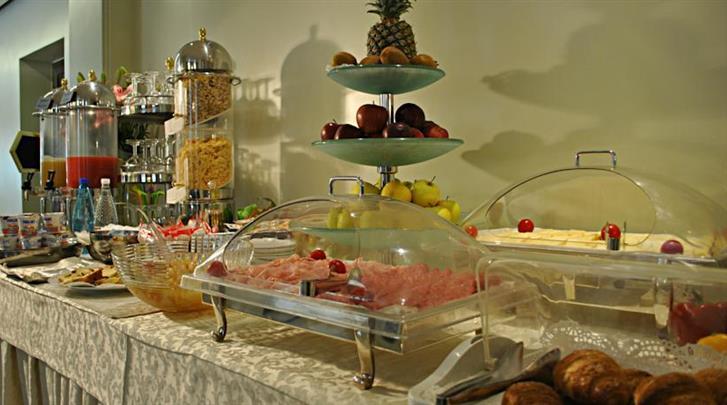 Venetië, Hotel Carlton Capri, Ontbijtbuffet