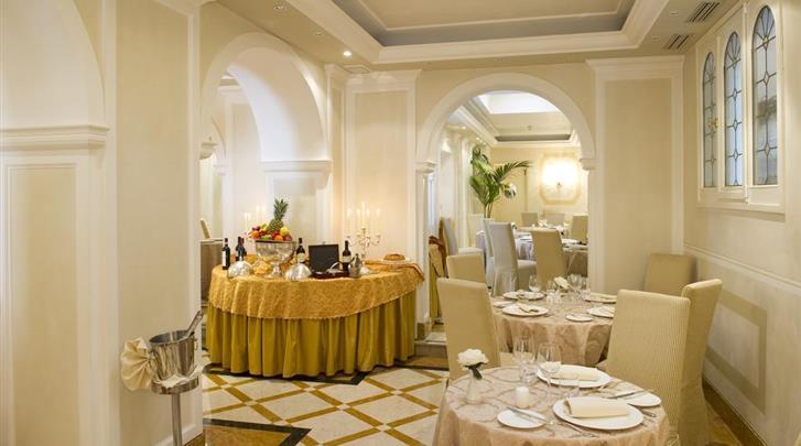 Venetië, Hotel Carlton Grand Canal, Restaurant