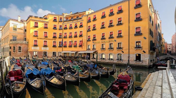 Venetië, Hotel Cavalletto & Doge Orseolo, Façade hotel