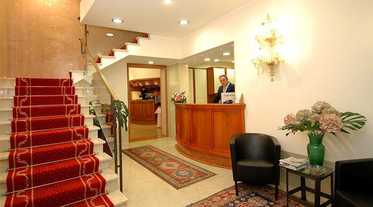Venetië, Hotel Da Bruno, Receptie