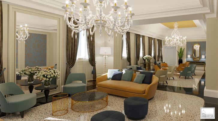 Venetië, Hotel H10 Palazzo Canova, Lobby