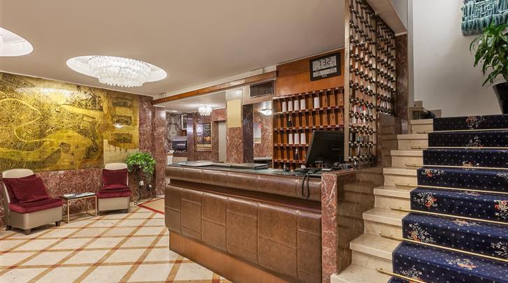 Venetië, Hotel Montecarlo, Receptie