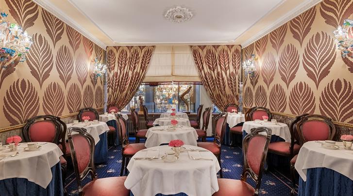 Venetië, Hotel Montecarlo, Restaurant