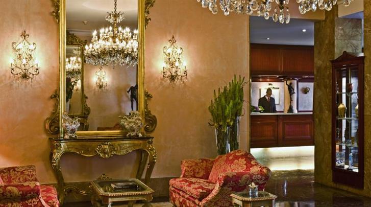 Venetië, Hotel Papadopoli Venezia, Receptie