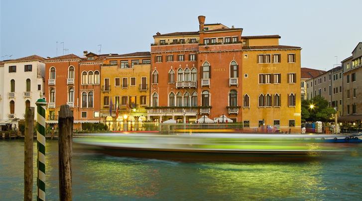 Venetië, Hotel Principe, Façade hotel