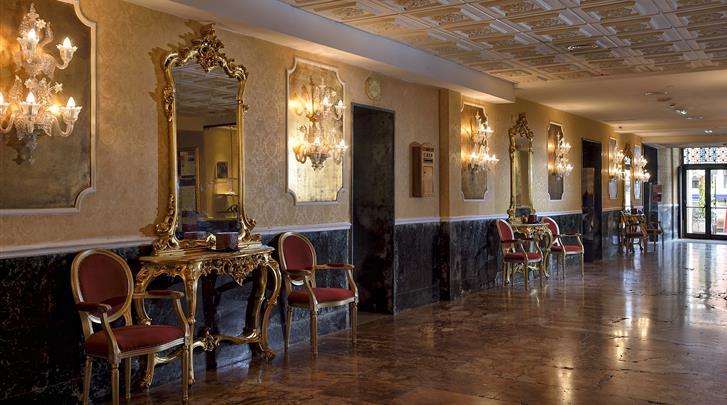 Venetië, Hotel Principe, Lobby