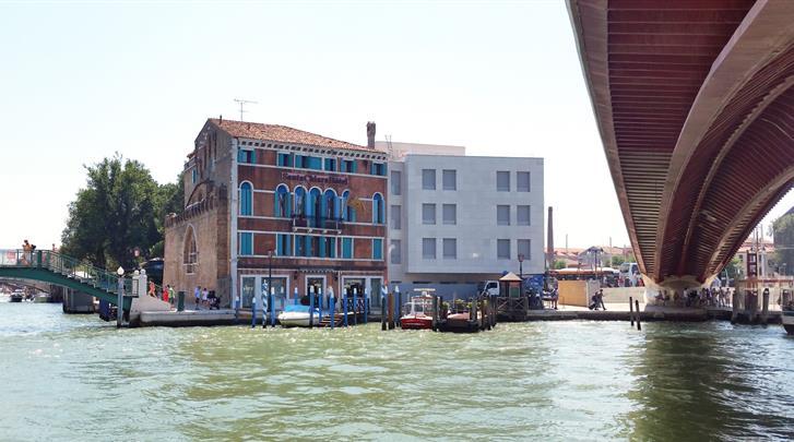 Venetië, Hotel Santa Chiara, Uitzicht