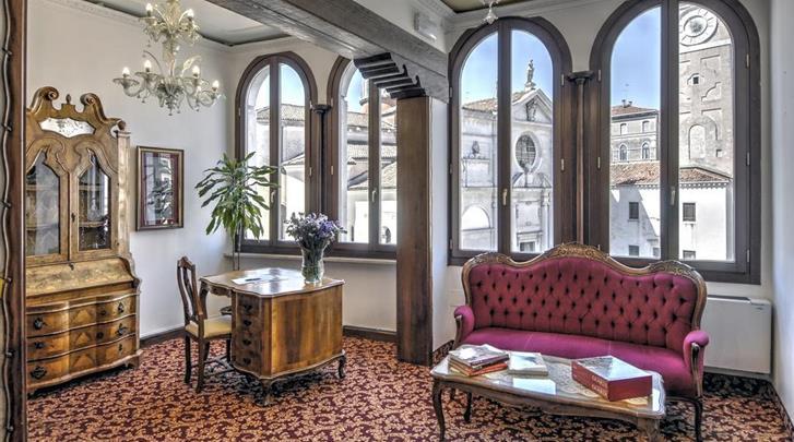 Venetië, Hotel Scandinavia