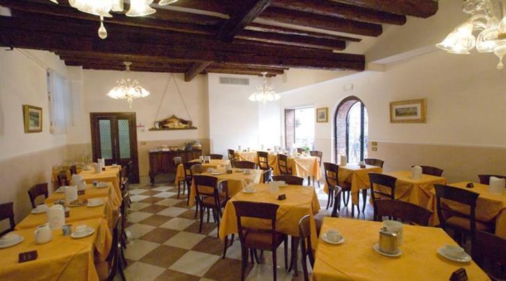 Venetië, Hotel Tivoli (VCE), Restaurant