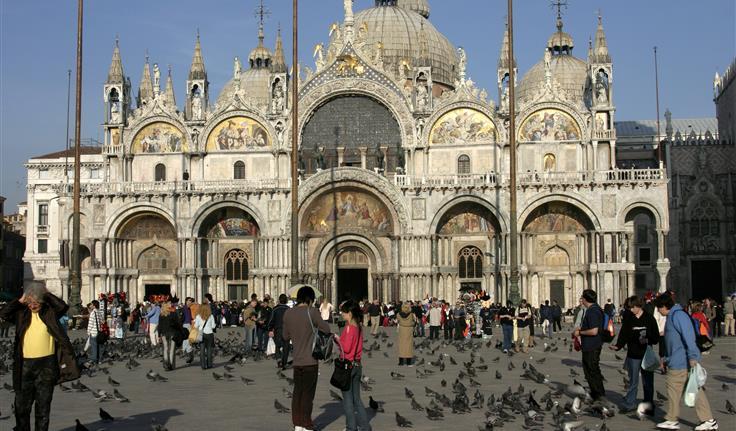 Venetië, San Marco Basiliek