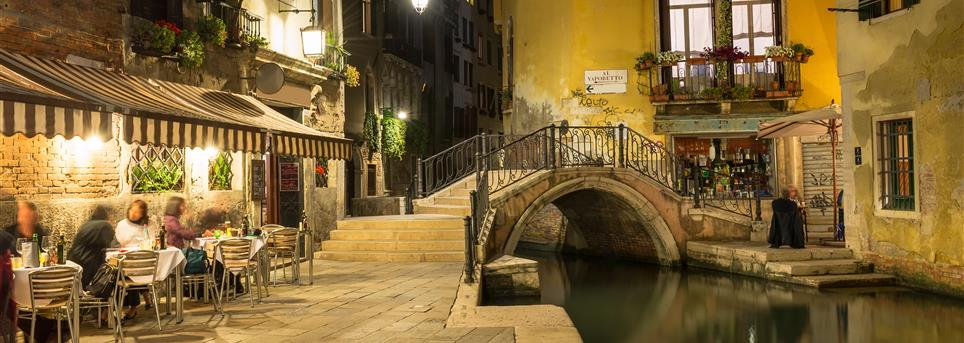 Venetië, Terrasje Venetië