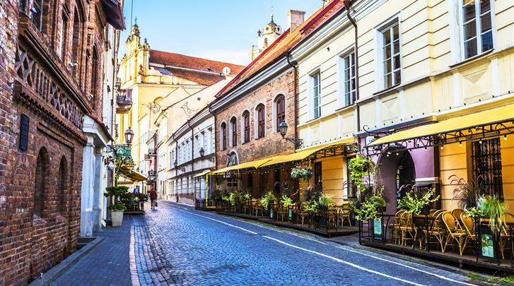 Vilnius, Hotel en Appartementen Railway, 10 minuten lopen naar de binnenstad