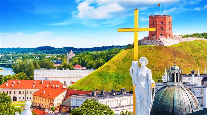 Vilnius, Hotel en Appartementen Railway, 20 minuten lopen naar de Gediminastoren