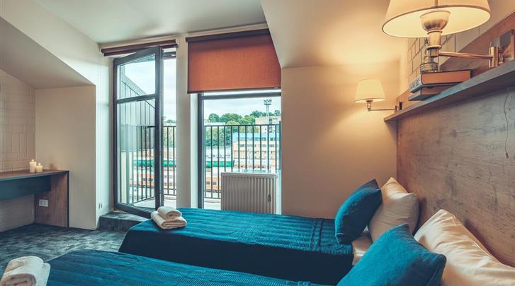 Vilnius, Hotel en Appartementen Railway, Kamervoorbeeld