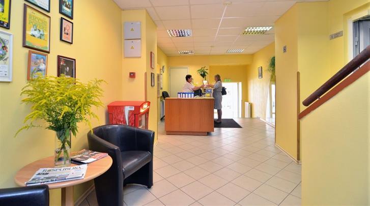 Vilnius, Hotel Mikotel, Lobby