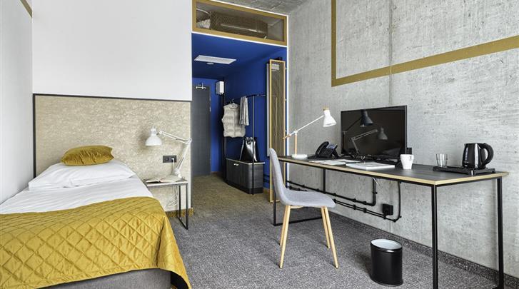 Warschau, Hotel Arche Geologiczna, Eénpersoonskamer