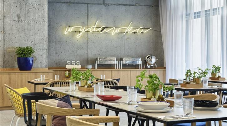 Warschau, Hotel Arche Geologiczna, Restaurant