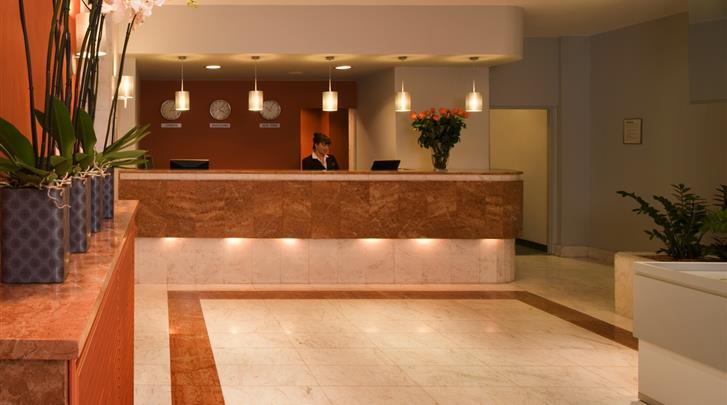 Warschau, Hotel MDM City Centre, Receptie