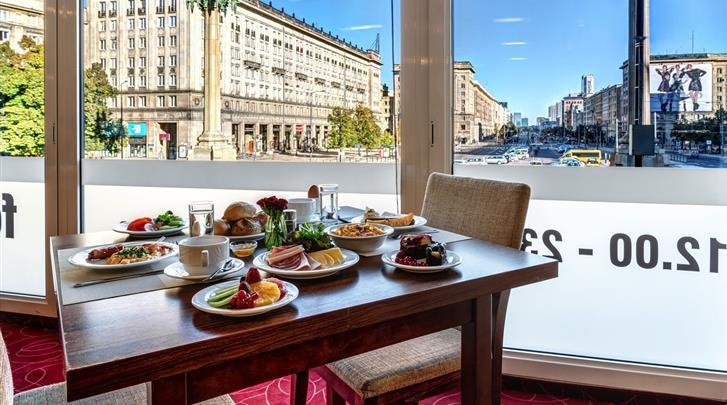 Warschau, Hotel MDM City Centre, Restaurant