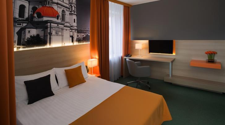 Warschau, Hotel MDM City Centre, Standaard kamer
