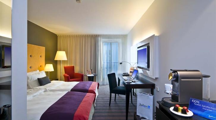 Warschau, Hotel Radisson Blu Sobieski, Standaard kamer