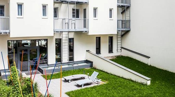 Wenen, Arthotel ANA Boutique Six, Binnentuin