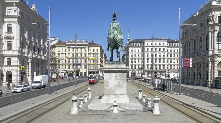 Wenen, Arthotel ANA Enzian, Centrum op 20 min. lopen (Schwarzenbergplatz)