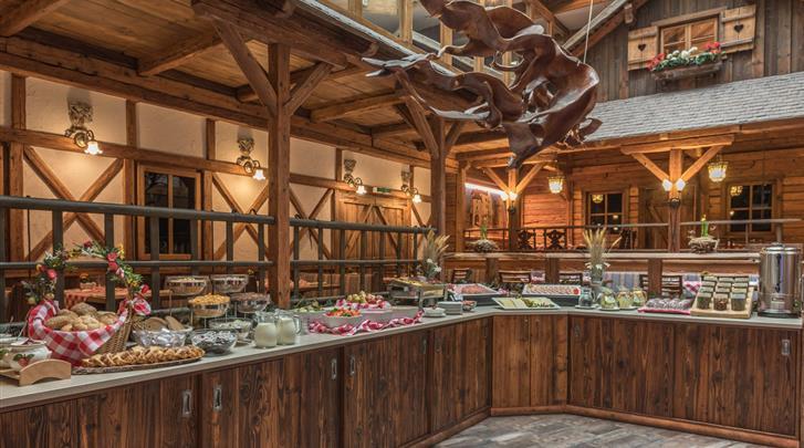 Wenen, Arthotel ANA Enzian, Ontbijtbuffet