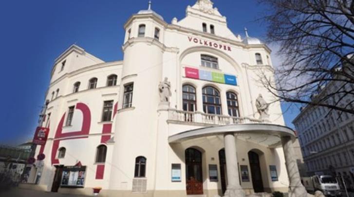 Wenen, Arthotel ANA Gala, Volksoper op kwartiertje lopen