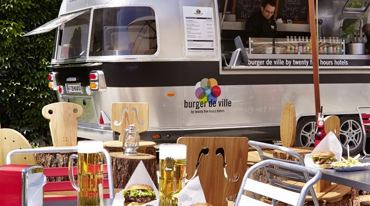 Wenen, Hotel 25hours Beim Museumsquartier, Food Truck