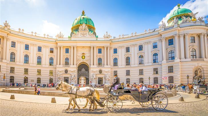 Wenen, Hotel Altwienerhof, Klein kwartiertje met de metro naar de Hofburg