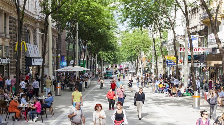 Wenen, Hotel Am Brillantengrund, Winkelstraat Mariahilfer Strasse op 5 min. lopen