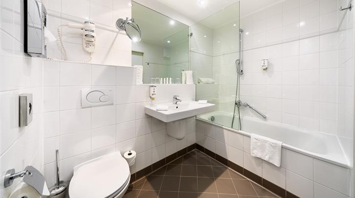 Wenen, Hotel Bellevue, Badkamer Executive kamer