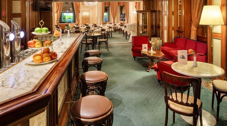 Wenen, Hotel Bellevue, Hotel bar