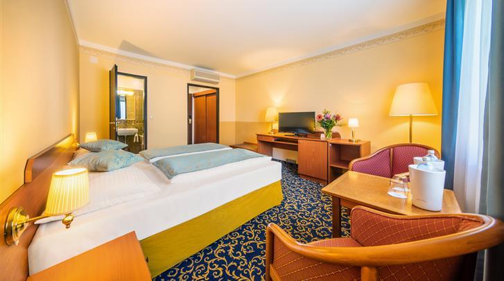 Wenen, Hotel Bellevue, Standaard kamer