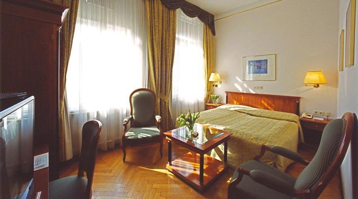 Wenen, Hotel Carlton Opera, Standaard kamer