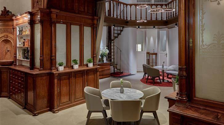 Wenen, Hotel Das Triest, Lobby