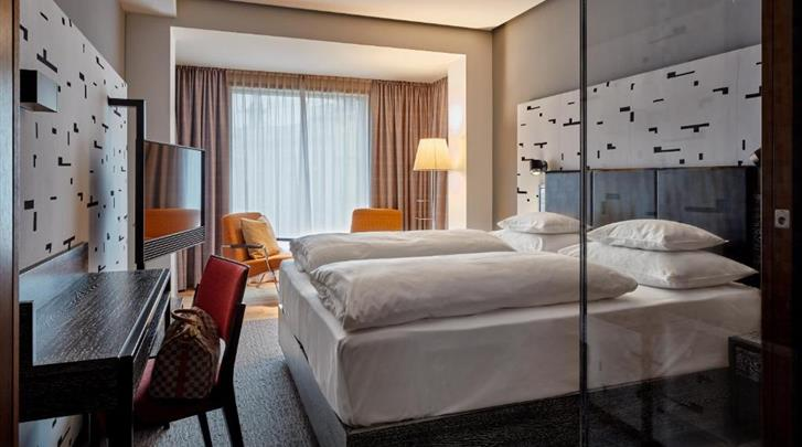 Wenen, Hotel Das Triest, Standaard kamer