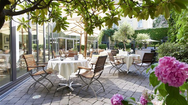 Wenen, Hotel Das Triest, Terras