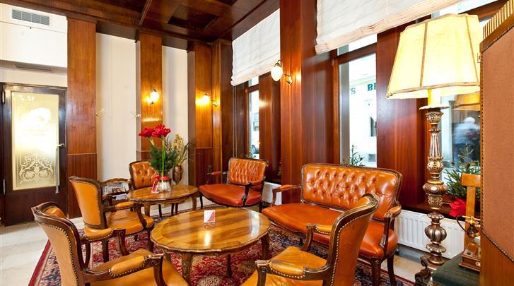 Wenen, Hotel Graben, Lobby
