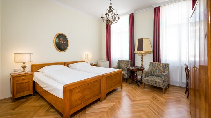 Wenen, Hotel Graben, Standaard kamer