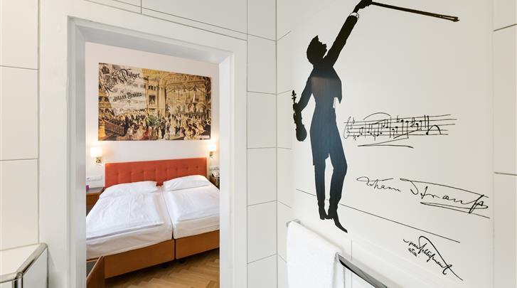 Wenen, Hotel Johann Strauss, Standaard kamer