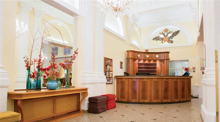 Wenen, Hotel Kaiserhof, Receptie