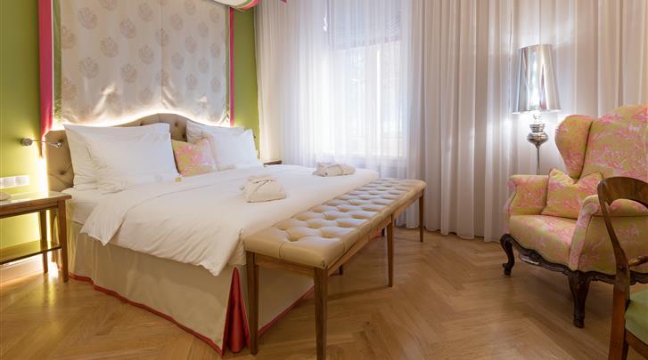 Wenen, Hotel Kaiserhof, Superior kamer