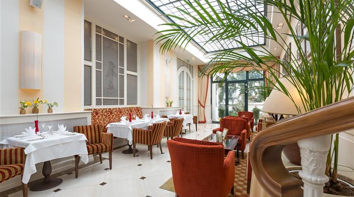 Wenen, Hotel Kaiserhof, Wintertuin