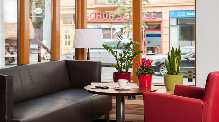 Wenen, Hotel Lucia, Lobby