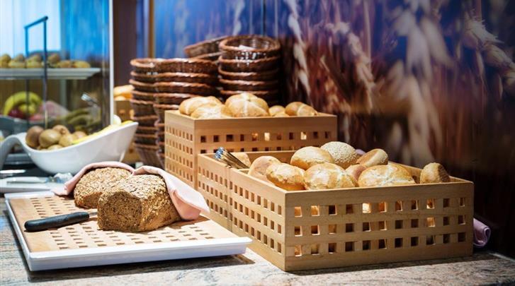Wenen, Hotel Lucia, Ontbijt